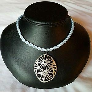 Jewelry - Satin Twist Choker Neckace